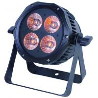 Auto Mode 4PCS 40W LED Par Can Lights , 3 in 1 RGB Led Disco Party Lights Manufactures