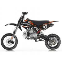 Air Cooled 125cc Mini Dirt Bike 4 Stroke Single Cylinder Manual Clutch Front And Rear Disc Brake Manufactures