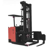China 2500kg Electric Reach Stacker Electric Reach Forklift Trucks AC Motor on sale