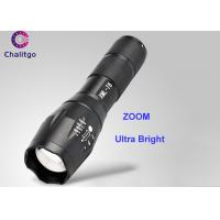 800LM Rechargeable Led Flashlight / Brightest Handheld Flashlight CREE XML T6 Adjustable ZOOM Manufactures