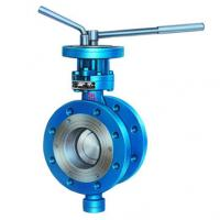 high quality flange butterfly valve with factoy price Manufactures