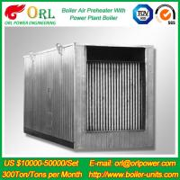 Natural Gas Industry 10 Ton Ponderance 150 MW APH Heating Boiler Air Preheater Manufactures