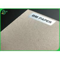 Quality 1mm Mix Pulp FSC Certificate Waste Paper Sheets Grey Chipboard For Parking Box for sale