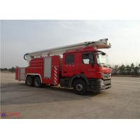 China High Strength Water Tower Fire Truck on sale