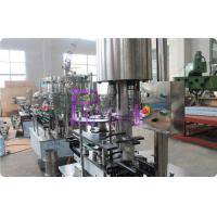 Stainless Steel Carbonated Drink Filling Machine , CSD Bottle Automatic Capping for sale