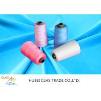AAA Grade 60 / 3 100 Spun Polyester Sewing Thread Sun Resistance Low Hygroscopic Manufactures