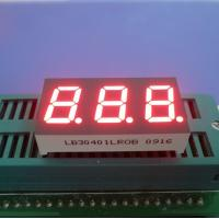 Super Bright Red Green Blue Yellow White 3 Digit 7 Segment Led Display Common Cathode 0.40 Inch Manufactures