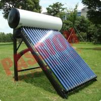 Indirect Loop Solar Power Hot Water System , Roof Mounted Solar Water Heater Pipes Manufactures