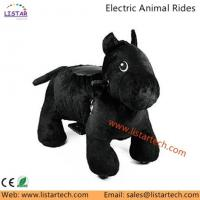 China Battery Operated Ride Animal Plush Animal Electric Scooters, Happy Rides On Animals-Horse on sale