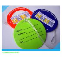 most popular PVC soft  rubber bag tag Manufactures
