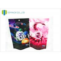 Custom Logo Aluminum Foil Herbal Incense Bags Zip Lock Resealable Standing Manufactures