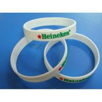 Debossed with color Silicone Bracelet Manufactures