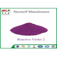 High Purity Clothes Color Dye C I Violet 2 Reactive Violet PE Purple Clothes Dye Manufactures