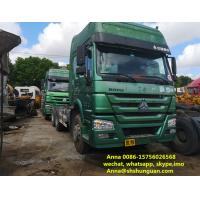 China Heavy Duty 10 Wheeler Used Trailer Head 6800 * 2496 * 3668 Mm ISO Approved on sale