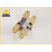 American 180 Degrees  Concealed Hinges For Cross Door and cabinet door Manufactures
