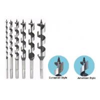 Hex Shank Wood Cutting Drill Bit , Auger Drill Bit For Woodworking