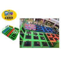 Professional Indoor Jump Trampoline Park For Kids Over 5 Years Old Manufactures
