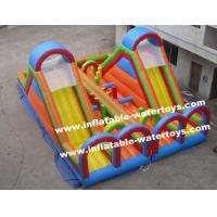 Quality Excellent Workmanship 0.55mm PVC Tarpaulin Inflatable Playground for Entertainment for sale