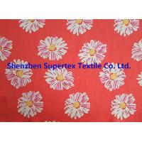 Comfortable Handfeel Sateen Custom Cotton Fabric With Pink Flowers Soft Cotton Fabric Manufactures