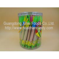 Whistle Pen Sweet Sour CC Sticks Candy With Red / White / Pink Colour Manufactures