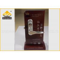 Noise Elimination Adjustable European Door Lock , Silent Lock Of Zinc Alloy Manufactures