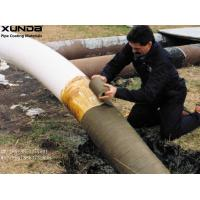 Petrolatum Petroleum Wax Pipe Protection Tape Coating For Exterior Of Steel Pipe Fittings Manufactures