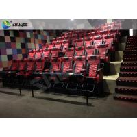 Playground Center 4D Local Movie Theaters Electric System With Blue Movement Chairs Manufactures
