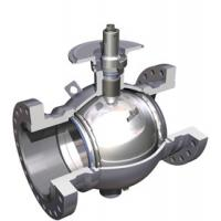 Quality ASME B16.34 API 608 Full Bore Ball Valve Steel Handles For Water , Air , Oil for sale