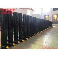 China Five Stages Telescopic Hydraulic Cylinder For Dump Truck , FLUTEC Hydraulics on sale