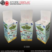Customize Corrugated Dump bin stand for foods Manufactures