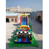 China Huge Interactive Challenge Inflatable Obstacle Course Bounce House Aqua Park Ninja Parcours on sale