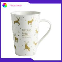 Personalized Travel Bone China Coffee Cups Ceramic Tableware Mug Set Durable Manufactures