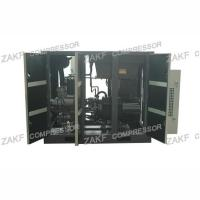 60HP 45KW 7 bar Two Stage Air Compressor , PM VFD Vertical Air Compressor Screw Type Manufactures