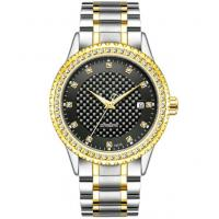 Diamond case automatic gold watch fashion wrist watches automatic watch for men Manufactures