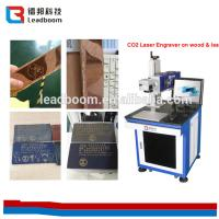 Buy cheap Laser Tube Co2 Laser Marking Machine 10W/30w For Leather / Organic Glass/ paper from wholesalers