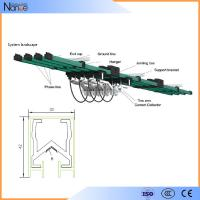 Aluminum Multiple Conductor Rails , 3 Phrase Power Distribution System Manufactures