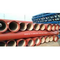 China EN598 Sewer Ductile Iron Pipes on sale