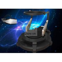 Professional Vr Gaming Treadmill , 9d Virtual Reality Cinema With Deepon E3 VR Glasses Manufactures