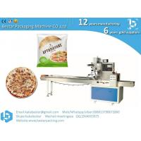 Frozen pizza semi-finished cheese pizza, Naples pizza automatic plastic film flow packaging Manufactures