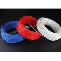 Electric Heater High Temperature Cable , Silicon Rubber Insulated Heating Wire Manufactures