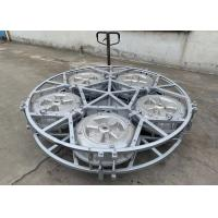 Custom Rotomold Wheel Floats With Full Spider Framework 6061T6 Mould Manufactures