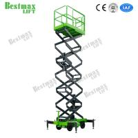 16m Height 500Kg Loading Capacity Hydraulic Lift Platform Stable Structure