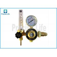 China Forged copper G5/8 male Argon regulator outlet pressure 0.25MPa on sale