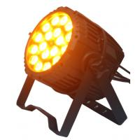 Energy Saving Outdoor LED Par Light 18 x 10w RGBWA Professional Stage Lighting Manufactures
