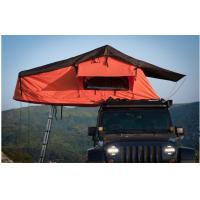 Overland Outside Camping 4x4 Roof Top Tent With Aluminum Telescopic Ladder Manufactures