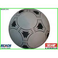 Quality Brand 2015 Small Size Inflatable Soccer Ball Black and White for Youth for sale