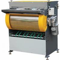 China PLC Control Notching Automatic / Grooving Machine For Shoe Boxes on sale