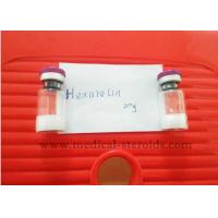 Hexarelin Peptide Hormones Bodybuilding CAS 140703-51-1 White Lyophillized Powder Manufactures