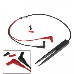 China SMD SMT Chip Test Clip Lead Probe Digital Multimeter Meter Tweezer Capacitor Resistance tweezers for FLUKE for Vichy on sale