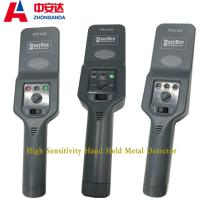 High Sensitive Hand Held Metal Detector Portable   Scanners For Safety Check Manufactures